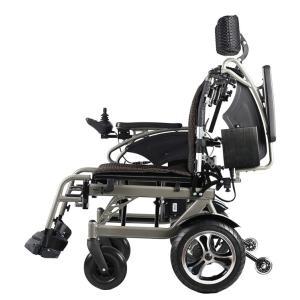 折り畳み電動車椅子、経済的+軽量 ヘットレスト付き Foldawheelシリーズ PW-777PL|usmtekuno|05