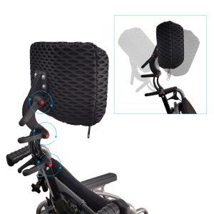 折り畳み電動車椅子、経済的+軽量 ヘットレスト付き Foldawheelシリーズ PW-777PL|usmtekuno|07