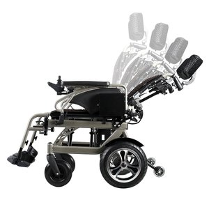 折り畳み電動車椅子、経済的+軽量 ヘットレスト付き Foldawheelシリーズ PW-777PL|usmtekuno|08