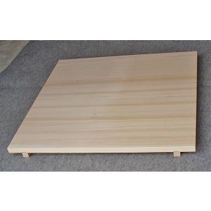 のし板(棒付) 90×90 スプルース(アラスカ桧) usu