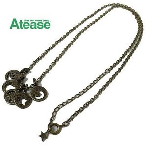Atease アティース 5-COIN NECKLACE ネックレス AN-5C|usual