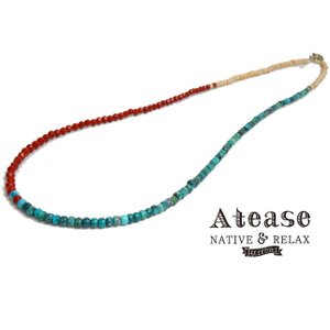 Atease アティース ビーズ ブレスレット&ネックレス PEACE BEADS BRACE&NECK AB-PC-BZ-3|usual