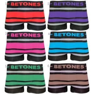 BETONES ビトーンズ BREATH BLACK ブレス ブラック アンダーウェア 下着 トランクス ボクサーパンツ メンズ|usual