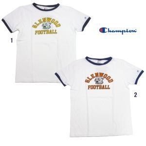 Champion チャンピオン ROCHESTER ロチェスター プリント リンガーTシャツ C3-H319|usual