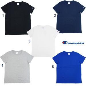 Champion チャンピオン WOMENS ポケット付き Tシャツ 無地 女性用 レディース Tシャツ CW-F323|usual