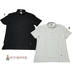 GUY ROVER ギローバー 鹿の子 ワイドカラー ポロシャツ |usual