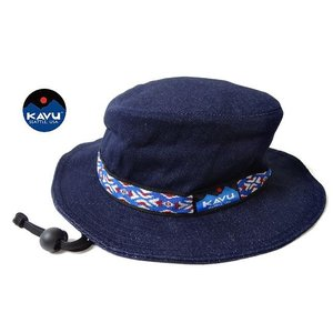 KAVU カブー ストラップ バケットハット デニム 帽子 ハット usual