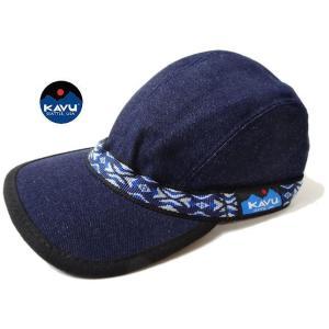 KAVU カブー ストラップ キャップ デニム 帽子 usual