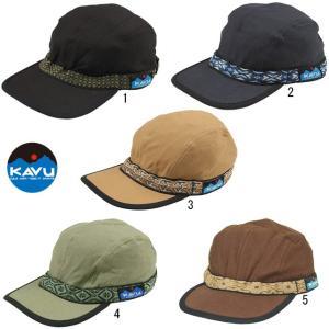 KAVU カブー ストラップ キャップ 帽子 CAP メンズ レディース ユニセックス|usual