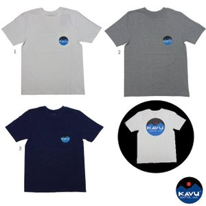 KAVU カブー マウンテンロゴT メンズ Tシャツ プリント ポケットTシャツ バックプリント usual
