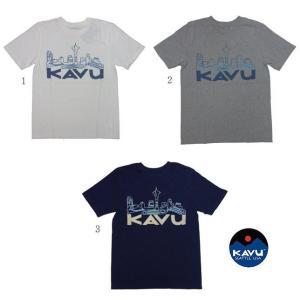 KAVU カブー トライバルシティT メンズ Tシャツ プリント usual