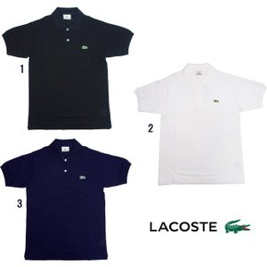 LACOSTE ラコステ L1212X 半袖 ポロシャツ メンズ 日本製|usual