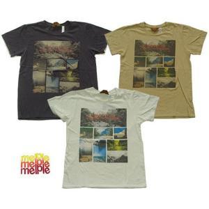 melple メイプル プリント Tシャツ  EMPOWER 3カラー 700987 usual