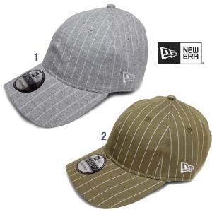 Newera ニューエラ 9TWENTY Cloth Strap キャップ メンズ 帽子 ニット ピンストライプ CAP usual