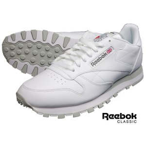 リーボック クラシック メンズ ホワイト レザースニーカー シューズ Reebok CLASSIC CL LTHR 2214 ホワイト レザー|usual
