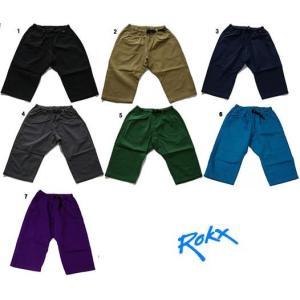 ROKX ロックス クロップドパンツ ショートパンツ ハーフパンツ|usual