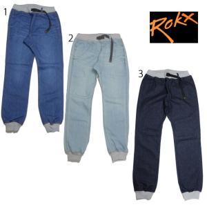 ROKX ロックス メンズ コットンウッド デニム ロング パンツ  COTTONWOOD DENIM PANT RXMF6203|usual