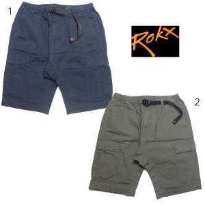 ROKX ロックス カーゴ ショーツ RXMS7220 ショートパンツ ハーフパンツ メンズ|usual