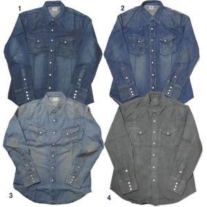 Wrangler ラングラー デニム シャツ BLUE BELL ウエスタンシャツ 4カラー|usual