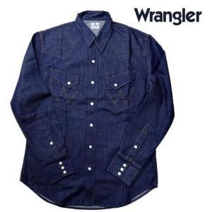 Wrangler ラングラー デニム BLUE BELL ウエスタンシャツ ワンウオッシュ|usual