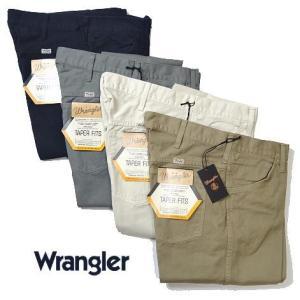 Wrangler ラングラー US オリジナル テーパーフィット パンツ コットンパンツ 綿パン メンズ|usual