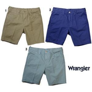 Wrangler ラングラー US オリジナル テーパー ショーツ ショートパンツ  メンズ|usual