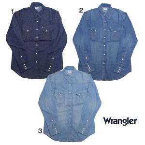ラングラー ウエスタンシャツ デニム シャツ BLUE BELL  Wrangler 27MW メンズ WM1725|usual