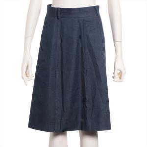 モスキーノ チープ&シック デニム スカート サイズ38 レディース ブルー|usus