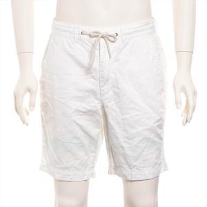 エディフィス コットン ショートパンツ 44 メンズ ホワイト|usus