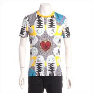ドルチェ&ガッバーナ コットン Tシャツ 44 メンズ ホワイト 品質表示タグ切られ|usus
