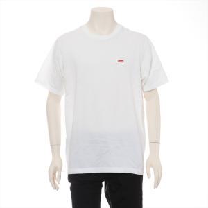 シュプリーム コットン Tシャツ M メンズ ホワイト 19SS Small Box Logo Tee|usus