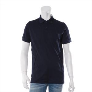 プラダ コットン ポロシャツ XSサイズ メンズ ネイビー|usus