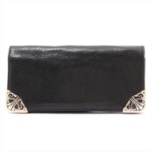 クロムハーツ 財布 レザー シングルフォールドチップス|usus