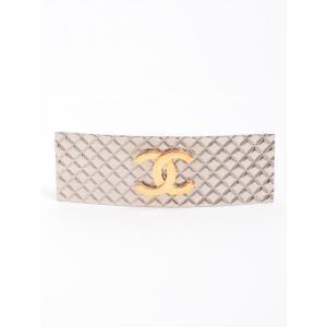 シャネル マトラッセ バレッタ 真鍮 シルバー ゴールド ココマーク|usus