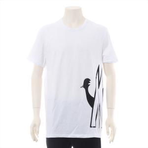 モンクレール コットン Tシャツ XL メンズ ホワイト|usus