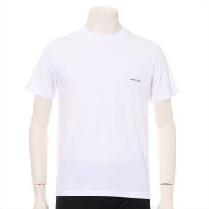バレンシアガ コットン Tシャツ XS メンズ ホワイト 2018|usus