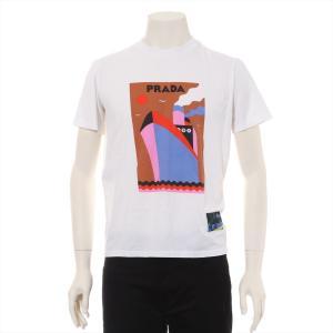 プラダ コットン Tシャツ S ユニセックス ホワイト 17SS|usus