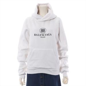 バレンシアガ コットン パーカー S メンズ ホワイト 19SS BB MODE|usus