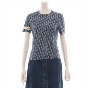クリスチャンディオール コットン Tシャツ 38 レディース ネイビー トロッター|usus
