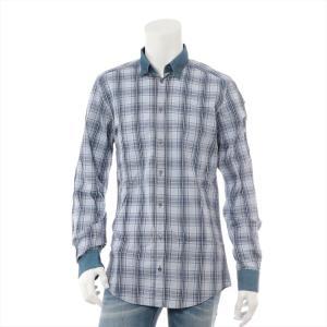 ドルチェ&ガッバーナ コットン シャツ サイズ39 メンズ ブルー|usus