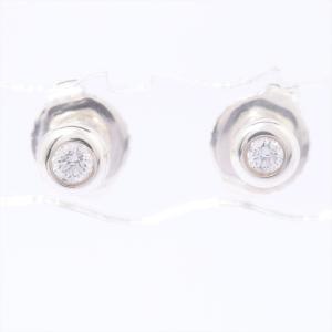 ティファニー ダイヤモンド バイザヤード ピアス AG925