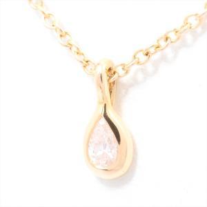 ティファニー Tiffany & Co. ダイヤモンド バイザヤード ペアシェイプ ネックレス 75...