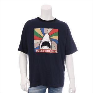 サンローランパリ コットン Tシャツ サイズXS メンズ ネイビー|usus