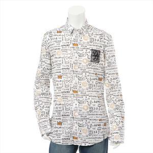 ドルチェ&ガッバーナ コットン シャツ サイズ:16/41 メンズ ホワイト|usus