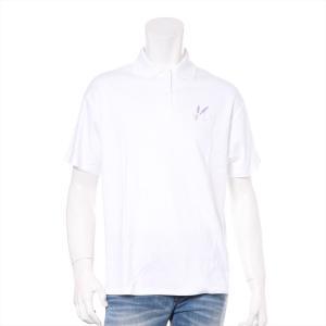 クリスチャンディオール コットン ポロシャツ メンズ ホワイト|usus