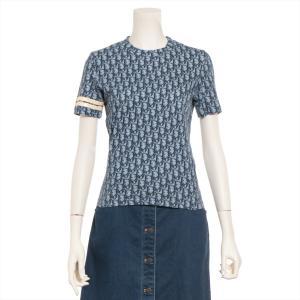 クリスチャンディオール コットン Tシャツ 38 レディース ブルー トロッター|usus