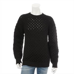 ディオールオム ポリプロピレン セーター サイズL メンズ ブラック|usus