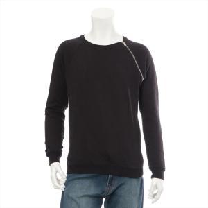 イヴサンローラン コットン スウェット サイズS メンズ レディース ユニセックス ブラック|usus