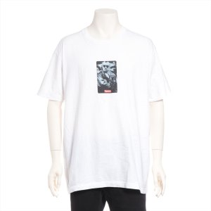 シュプリーム コットン Tシャツ XL メンズ ホワイト 14ss 20周年 タクシードライバー|usus