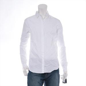 サンローランパリ コットン シャツ 38 メンズ ホワイト タグ付き|usus